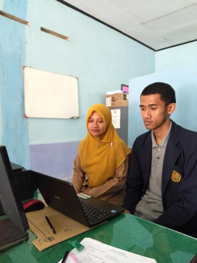 Image : Kerja Praktik Mahasiswa Universitas Muhammadiyah Magelang 2019