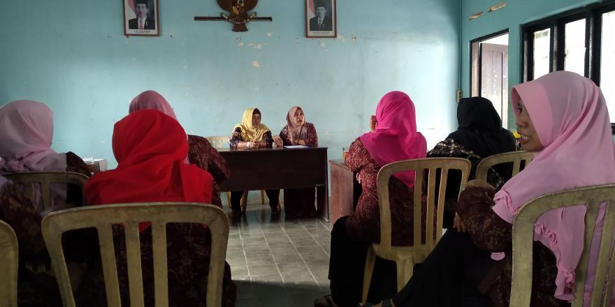 Image : Pertemuan Rutin PKK Desa Bumiayu