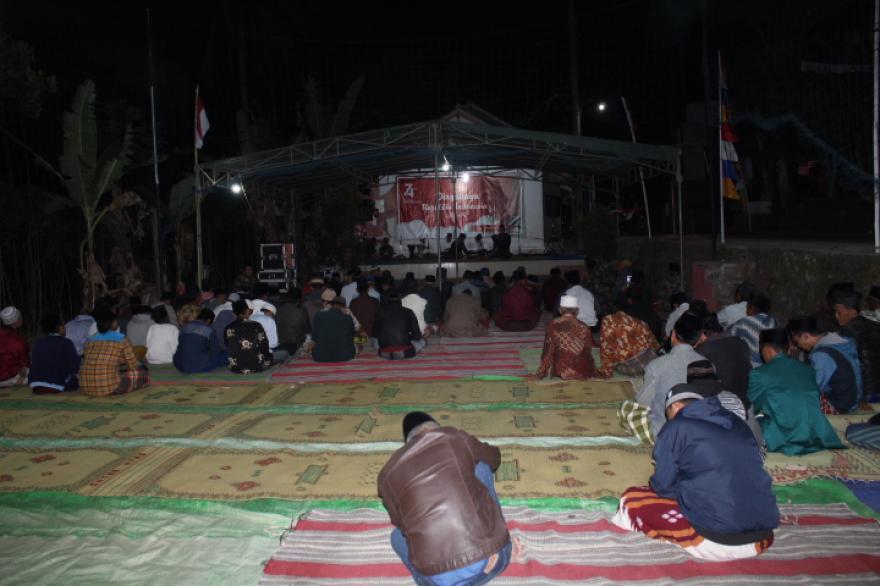 Image : Malam Tirakatan Desa Bumiayu